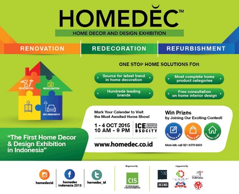 Home Decor Indonesia Convention Exhibition