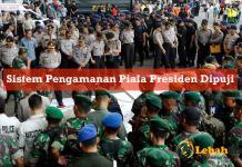 Sistem Pengamanan Piala Presiden 2015