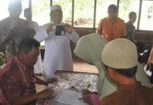 Wakil Bupati Sintang Resmikan Penerimaan Santri Perdana Ponpes Islamic Centre Bin Baz