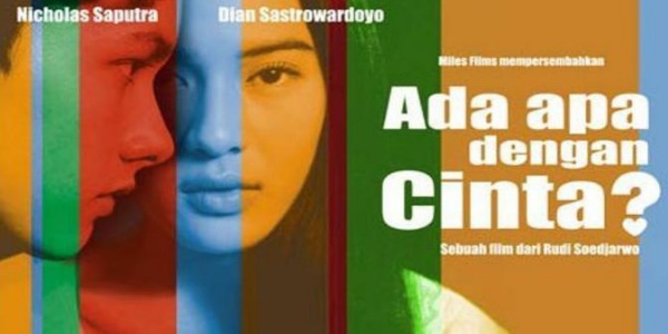 Dian Sastro salah satu pemeran utama dalam Film Ada Apa Dengan Cinta