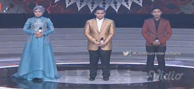 Peserta Liga Dangdut Indonesia Konser Nominasi Sumatera Utara