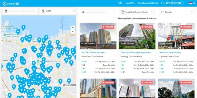 Tempat Sewa Apartemen Murah Di Jakarta Secara Online Jendela360