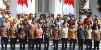 Susunan Kabinet Indonesia Maju 2019