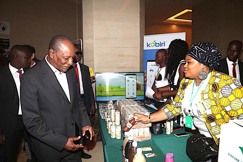 Agro-industrie :  Le Président Alpha Condé lance le Forum du secteur privé