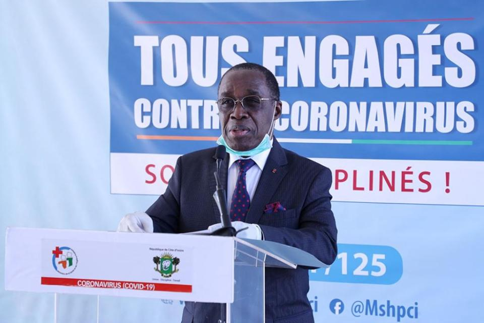 Infection au Coronavirus en Côte d'Ivoire : 533 personnes infectées 53 guéries et 4 décédées
