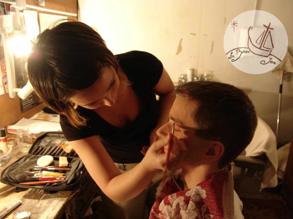 2005 Duo Choc de Mime spectacle de Mime avec Pillavoine Dichliev à Paris Théo Théâtre