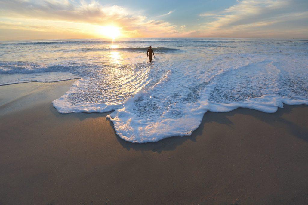 Etwas mehr auf den Wellen des Lebens surfen