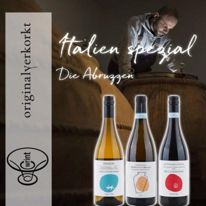 Wrint Flaschen Italien Abruzzen Insta
