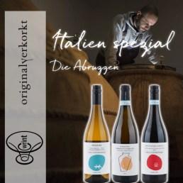 Wrint Flaschen Italien Abruzzen Lebendige Weine