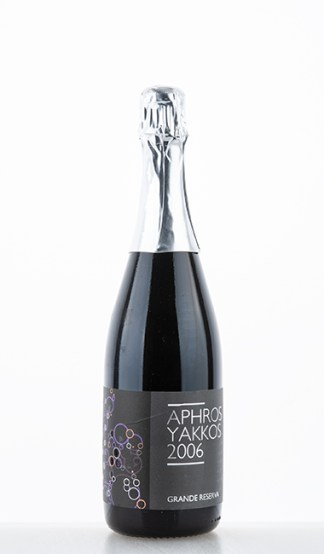 Yakkos Sparkling Grande Reserva Espumante Tinto 2006 Aphros Wine