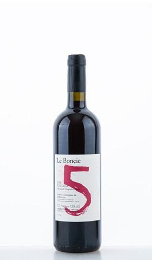 """Le Boncie """"5"""" Cinque Toscana IGT 2018"""