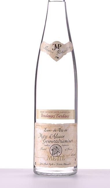 Marc de Gewürztraminer Vendanges Tardives 1990 2021 1500ml –  Jean-Paul Metté