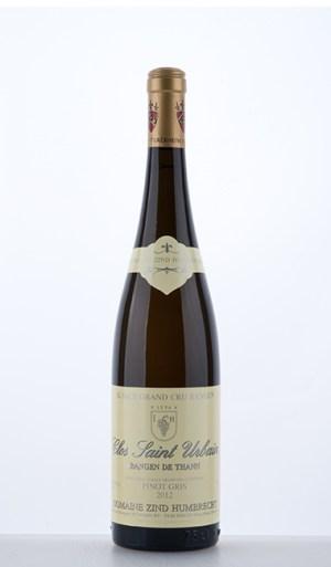 Pinot Gris Rangen de Thann Clos-Saint-Urbain Grand Cru 2012