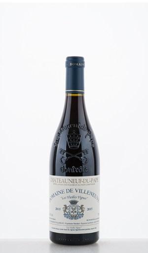 """Châteauneuf-du-Pape """"Les Vieilles Vignes"""" 2015 –  de Villeneuve"""