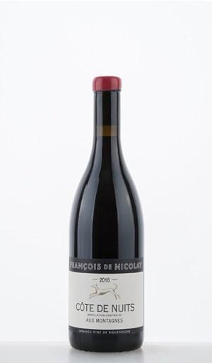 """Côte de Nuits Rouge """"Aux Montagnes"""" 2016 - François de Nicolay"""