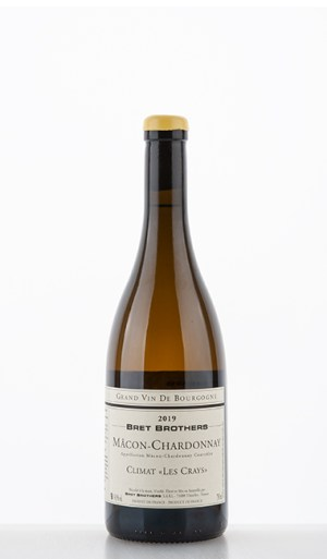 "Mâcon-Chardonnay Climat ""Les Crays"" 2019 –  Bret Brothers"