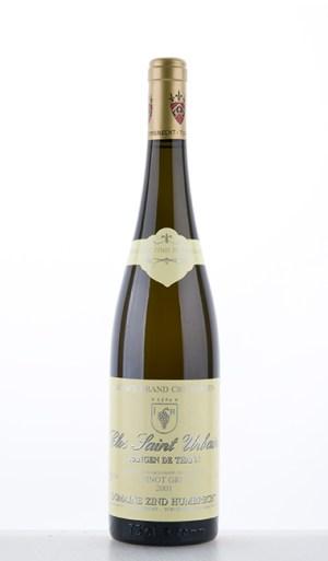 Pinot Gris Rangen de Thann Clos-Saint-Urbain Grand Cru 2001 –  Domaine Zind-Humbrecht