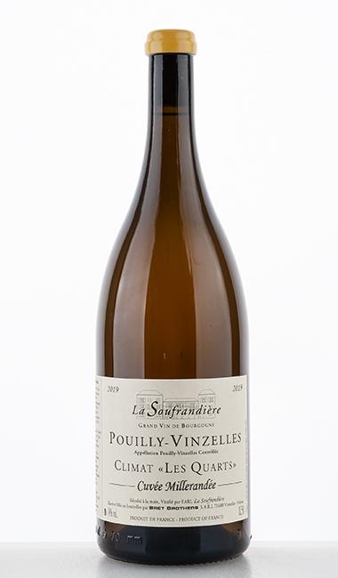 """Pouilly-Vinzelles Climat """"Les Quarts"""" Cuvée Millerandée 2019 1500ml - La Soufrandière"""