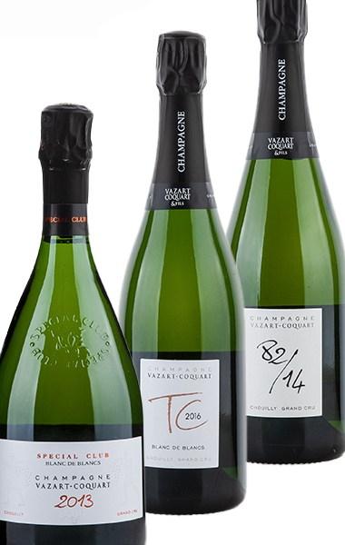 Probierpaket Champagne Vazart-Coquart Top-Cuvée 2021 –  Probierpaket