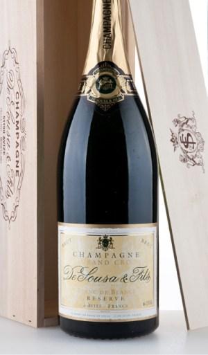 Réserve Brut Blanc de Blancs Grand Cru NV 1500ml –  De Sousa et Fils