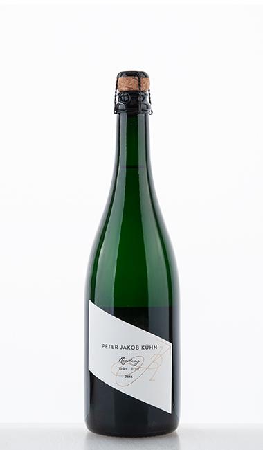Riesling Sekt Brut traditionelle Flaschengärung 2016 –  Peter Jakob Kühn