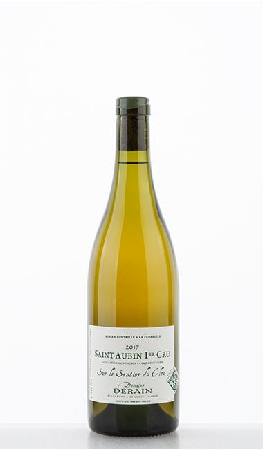 """Saint-Aubin blanc 1er Cru """"Sur le Sentier du Clou"""" 2017 - Dominique Derain"""