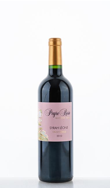 Syrah Léone VdF 2010 - Peyre Rose