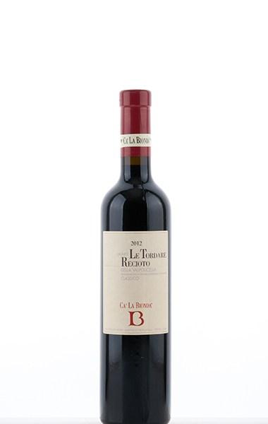 """Recioto """"Le Tordare"""" Valpolicella Classico 2012 500ml"""