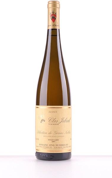 Pinot Gris Clos Jebsal Sélection de Grains Nobles 2007