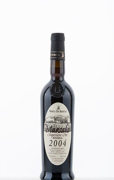 Marsala Superiore Oro Riserva 2004 DOC 2004 500ml