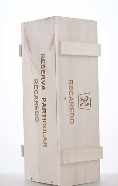 Coffret en bois pour une bouteille de Reserva Particular NV