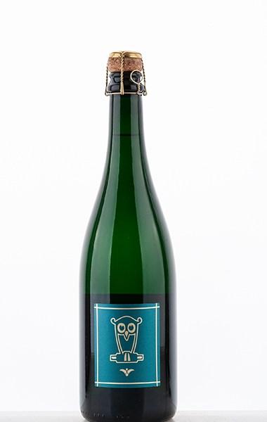 Riesling Sekt Brut Nature fermentation traditionnelle en bouteille 2017