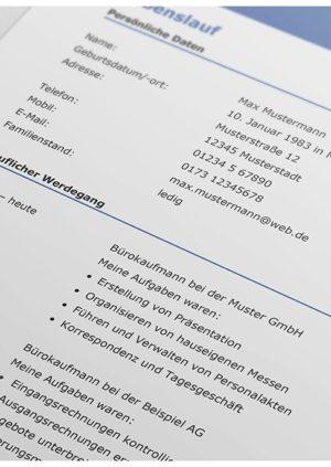 Die vorlagen von lebenslauf.de bieten dir einige vorteile: 200 Kostenlose Lebenslauf Muster Vorlagen 2021