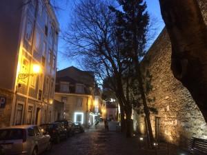 Lissabons Altstadt - Rua do Chão da Feira