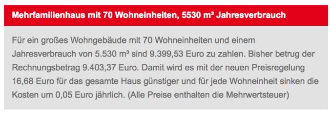 Eine der vielen Vergleichsrechnungen auf der RheinEnergie-Website        (Q.: RheinEnergie)