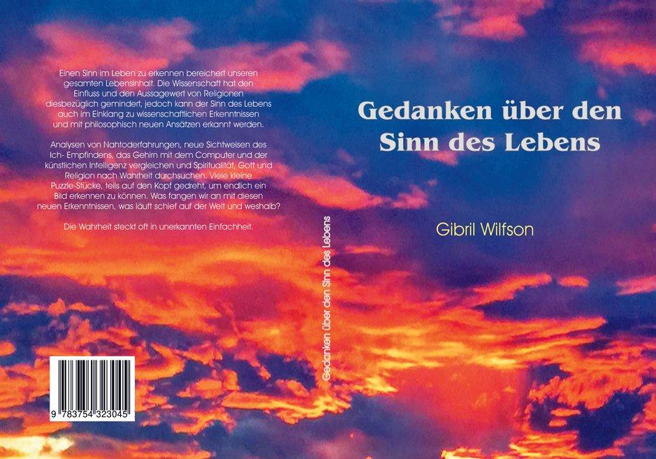 Buchcover Gedanken über den Sinn des Lebens