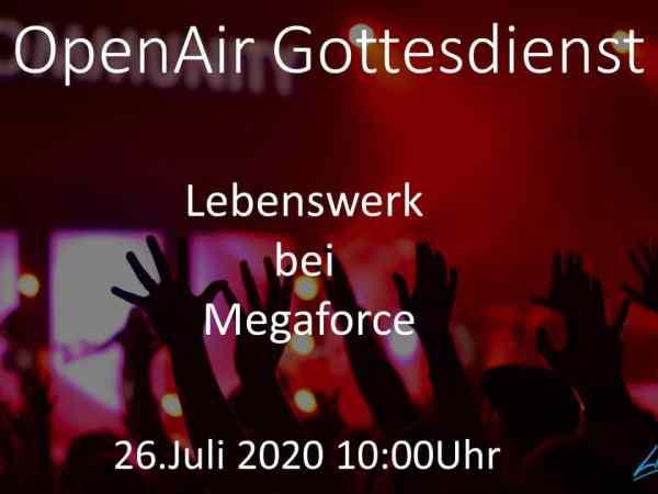OpenAir Gottesdienst am 26. Juli 2020