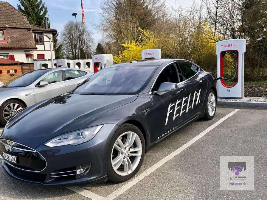 Fahrt mit dem Feelix Car