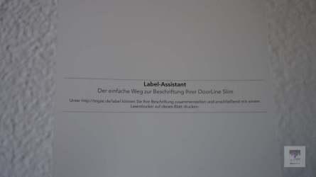 Für den Labeldruck