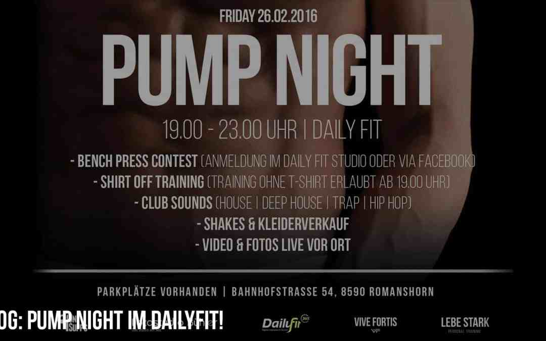 PUMP NIGHT im DailyFit!