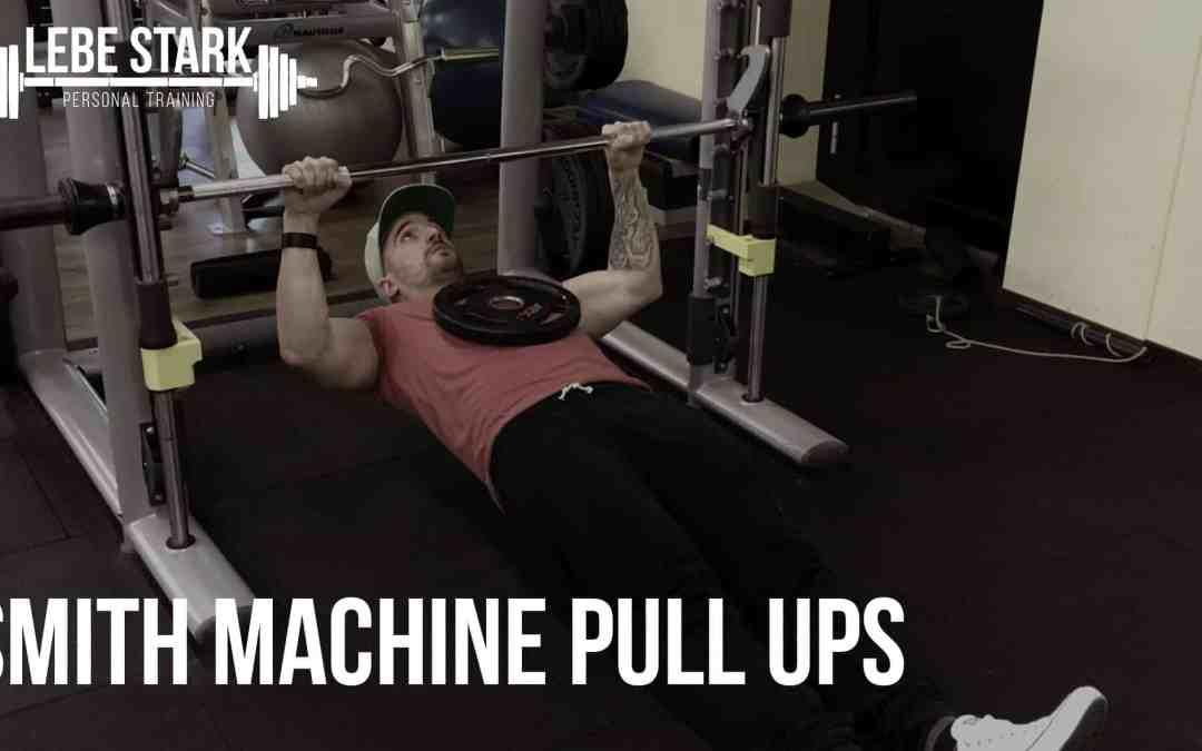 Smith Machine Pull Ups
