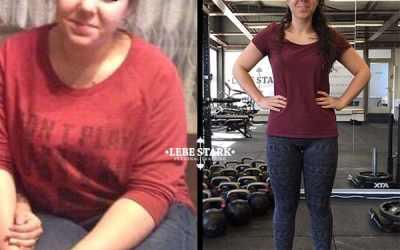 Wie Asli in 252 Tagen 21 kg abnehmen konnte