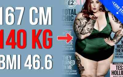 Stark übergewichtiges Model auf dem Cover des Cosmopolitan