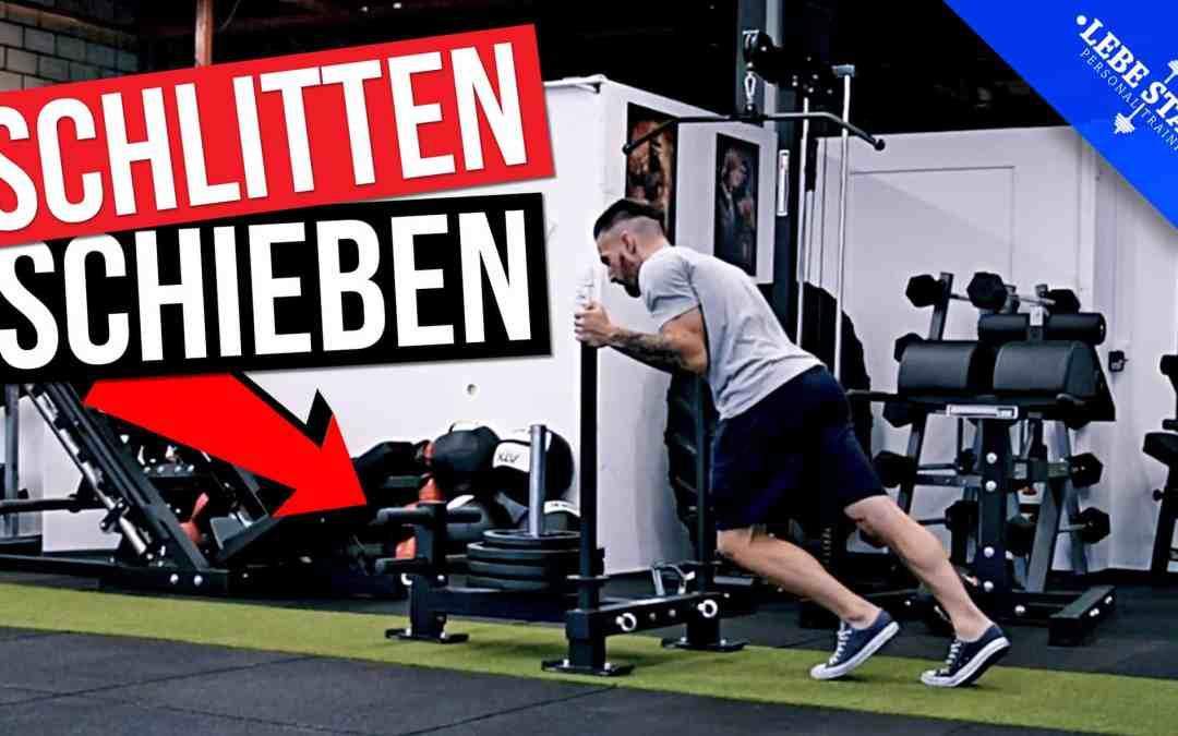 Die 5 besten Übungen für den Gewichtsschlitten (Prowler Sled) – [BEINTRAINING]