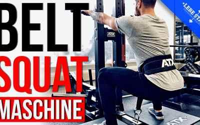 ATX Belt Squat Maschine für Anfänger – [SQUAT, DIPS & ROWS!]
