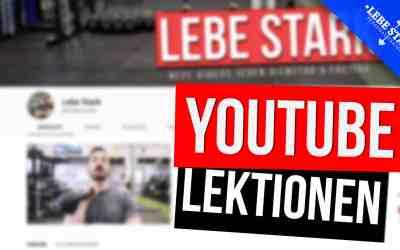 Top 10 Punkte, die ich durch meinen YouTube Channel gelernt habe