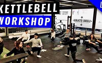 Live Kettlebell Workshop für Anfänger