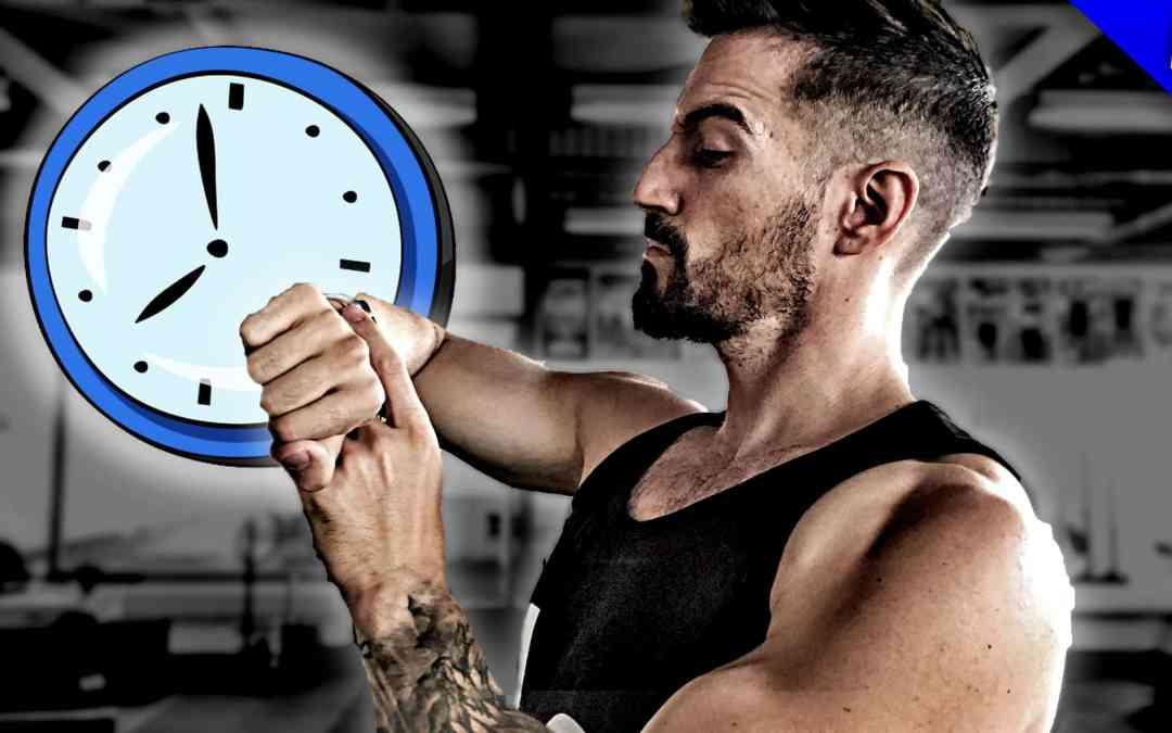 Wieso du pro Woche 38.5 Stunden Zeit hast zu trainieren