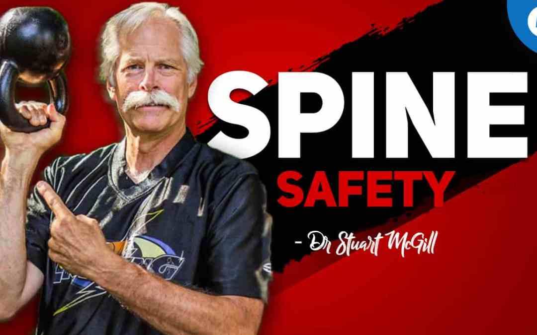 Weltweit anerkannter Wirbelsäulenexperte Dr. Stuart McGill erscheint auf dem Lebe Stark Podcast!