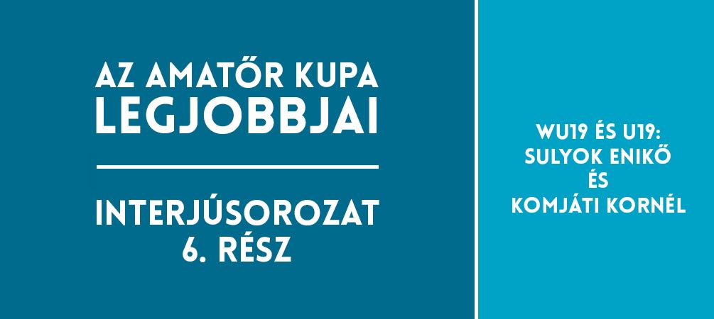 Sulyok Enikő és Komjáti Kornél